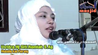 Download lagu ceramah bugis ustadzah Hj.Siti.Romlah S.Ag