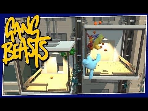 Gang Beasts - #197 - Elevator Problems