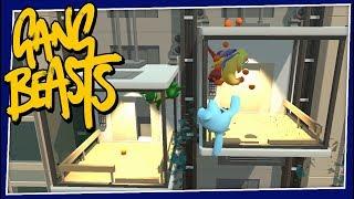 Gang Beasts - #197 - Elevator Problems
