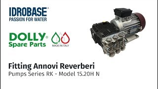 Dolly Spare Parts - Fitting Annovi Reverberi - Series RK - Model 15.20 H N