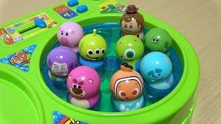 クーナッツ ピクサー パニックゲーム Disney Pixar toy Catching Game