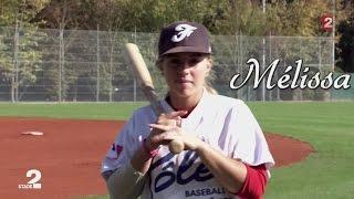 VIDEO. Mélissa Mayeux, la jeune prodige du base-ball