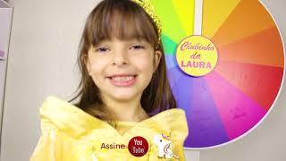 ROLETA MAGICA DAS PRINCESAS - MAGIC WHELL WITH COLORS PRINCESS FOR KIDS - CLUBINHO DA LAURA !