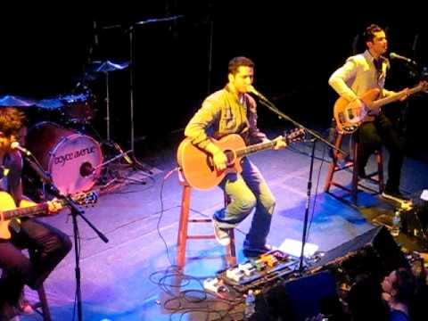 Boyce Avenue  At The Bowery Ballroom New York  Chasing Cars