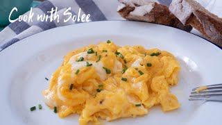 Perfect Scrambled Eggs | 西式早餐炒蛋|Breakfast Ideas |早餐食譜