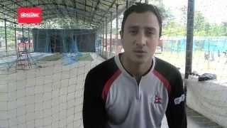 Paras Khadka - Nepal Earthquake Fundraising Match (HOTLINK) #batfornepal #kinraraoval