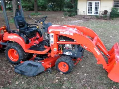 kubota BX 1850 4x4 Diesel, Loader, Tiller, Post Hole Digger, For sale