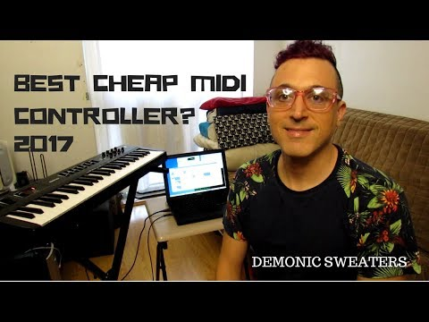 Best Cheap Midi Controller 2017 - MIDIplus Classic 49 Review and Demo