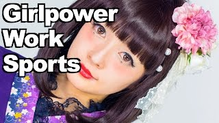 GIRLPOWER, WORK & SPORTS | Talk with Misako Aoki Japanese Lolita fashion model | 青木美沙子女子力について Thumbnail