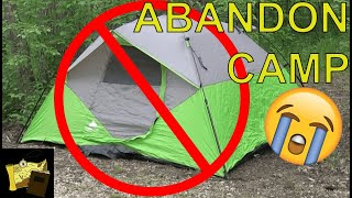 Our CAMPING TRIP wąs RUINED! | Hiking Vlog in Missouri Ozarks