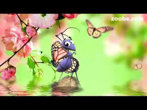Сегодня день весны.  Видео открытки.