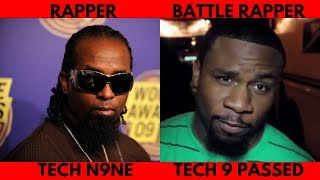 Legendary Philly Battle Rapper Tech 9 Passed Today