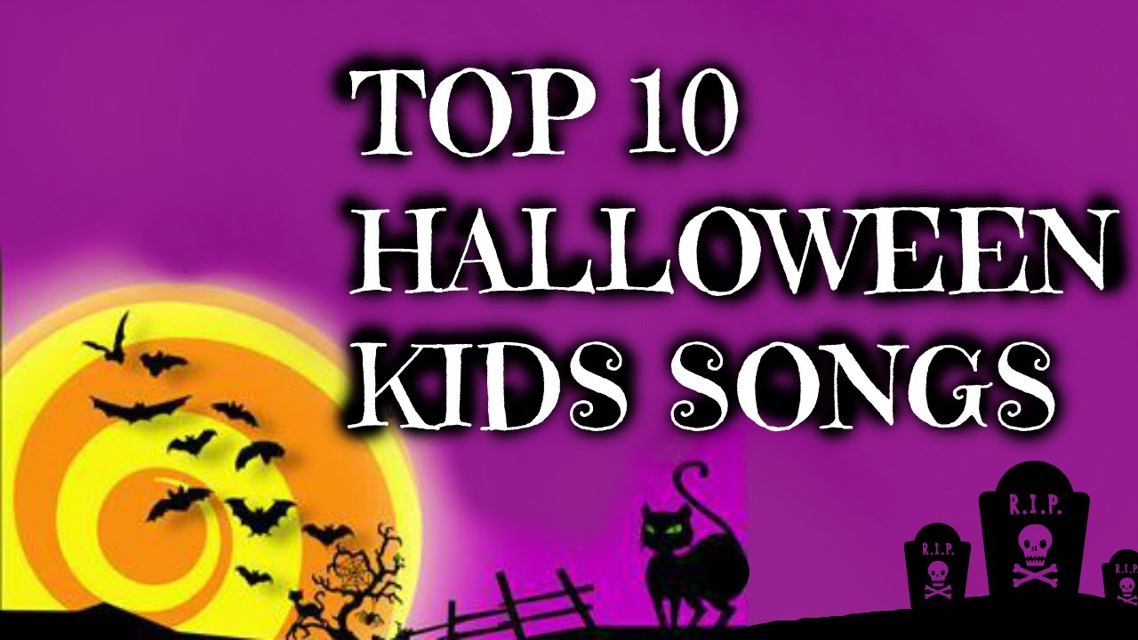 Top 10 Halloween songs for kids - YouTube