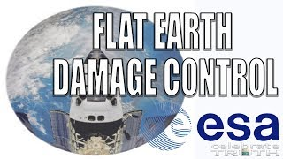 Flat Earth Damage Control: ESA Pushing