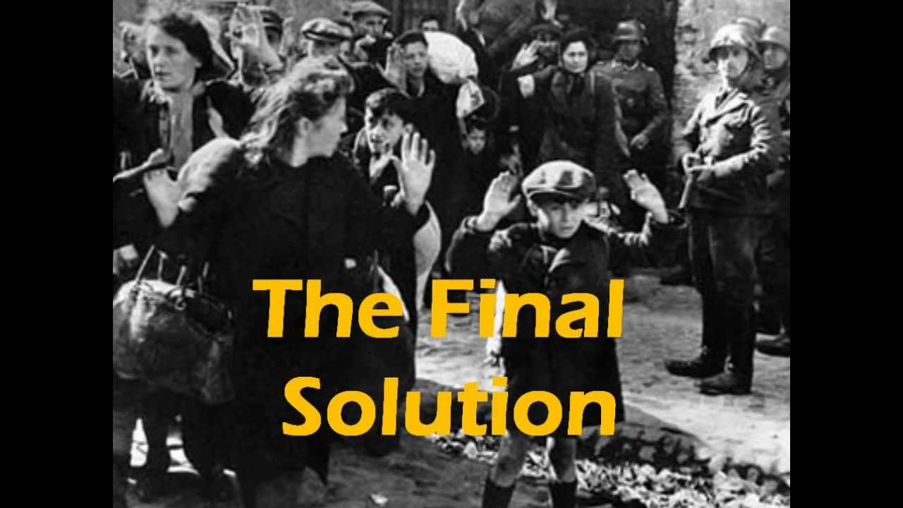 "a history of nazis the final solution The turning point in the nazis' plan to ""solve the jewish problem"" began with   this policy crystallized as a result of hitler's visit to the front and his conclusion  that the territorial solution to the  in less than half a year, by the end of 1941,  about half a million jews had  the history of the jewish community of liepaja,  latvia."