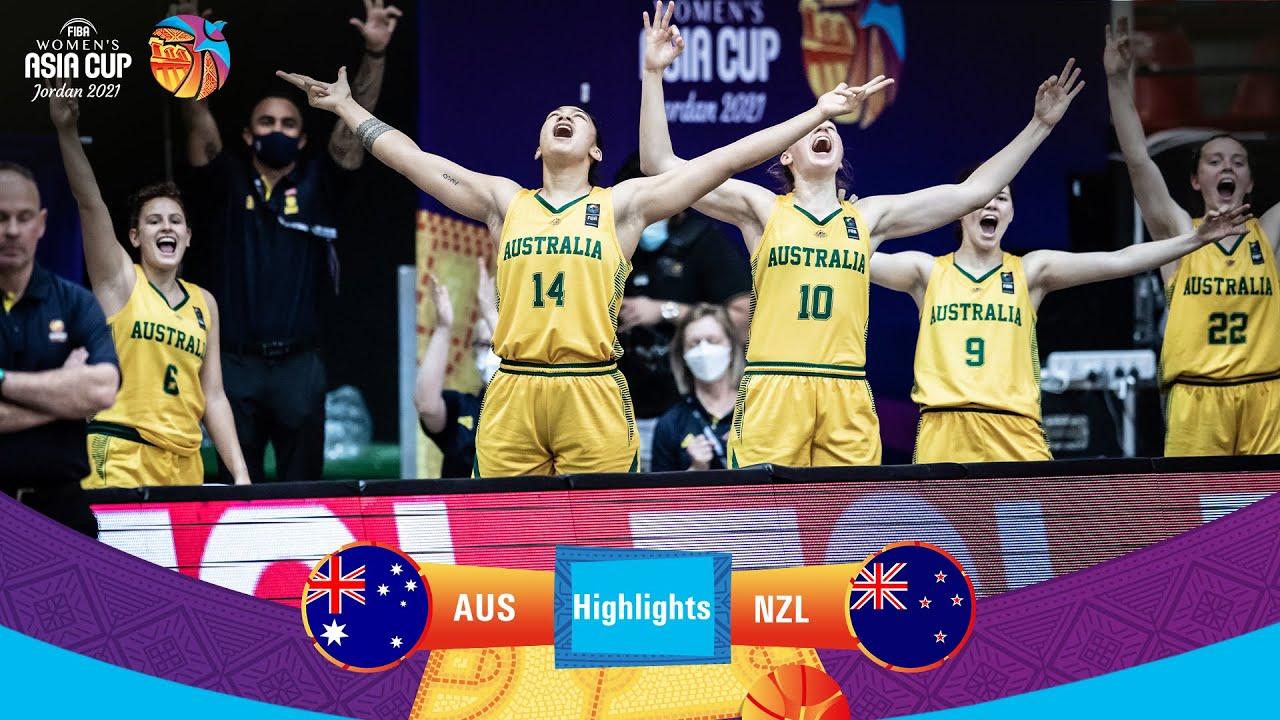 Australia - New Zealand   Highlights - FIBA Women's Asia Cup 2021