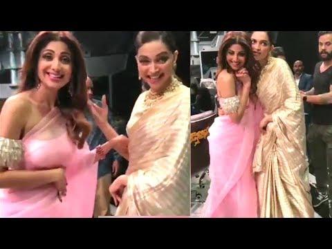 Shilpa Shetty's Sweet Gesture Promoting Deepika Padukone's Padmavati On Super Dancer 2017 thumbnail