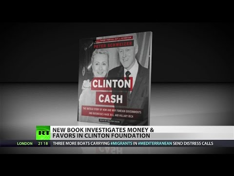 Book claims Clinton Foundation played on family fame while Hillary was in office