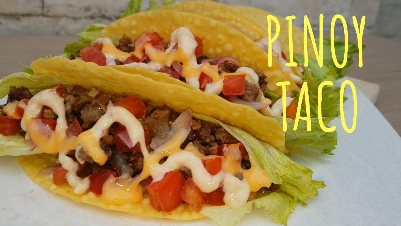 Tacos Recipe Ground Beef Panlasang Pinoy   Deporecipe.co