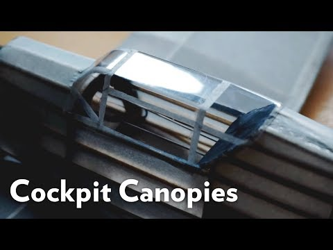 Model Aircraft: How to Install a Canopy