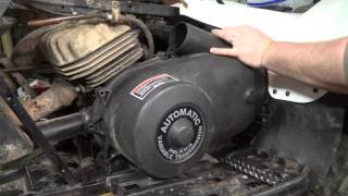 Polaris Trailblazer 250 Clutch Cover Removal