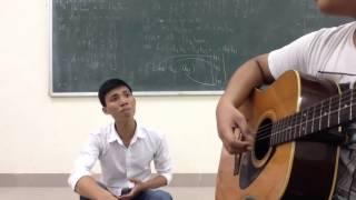 Sẽ không còn nữa - guitar cover by sinh viên ĐHCN hà nội