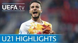 Under-21 highlights: Portugal v Spain
