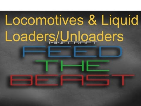 How To Feed The Beast: Locomotives amd Liquid Loaders/Unloaders