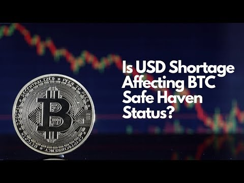 Bitcoin Stocks & Gold - Is USD Shortage Affecting BTC Safe Haven Status?