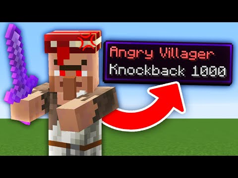 Minecraft But Every Mob Is Hostile With Knockback 1,000... - Silver