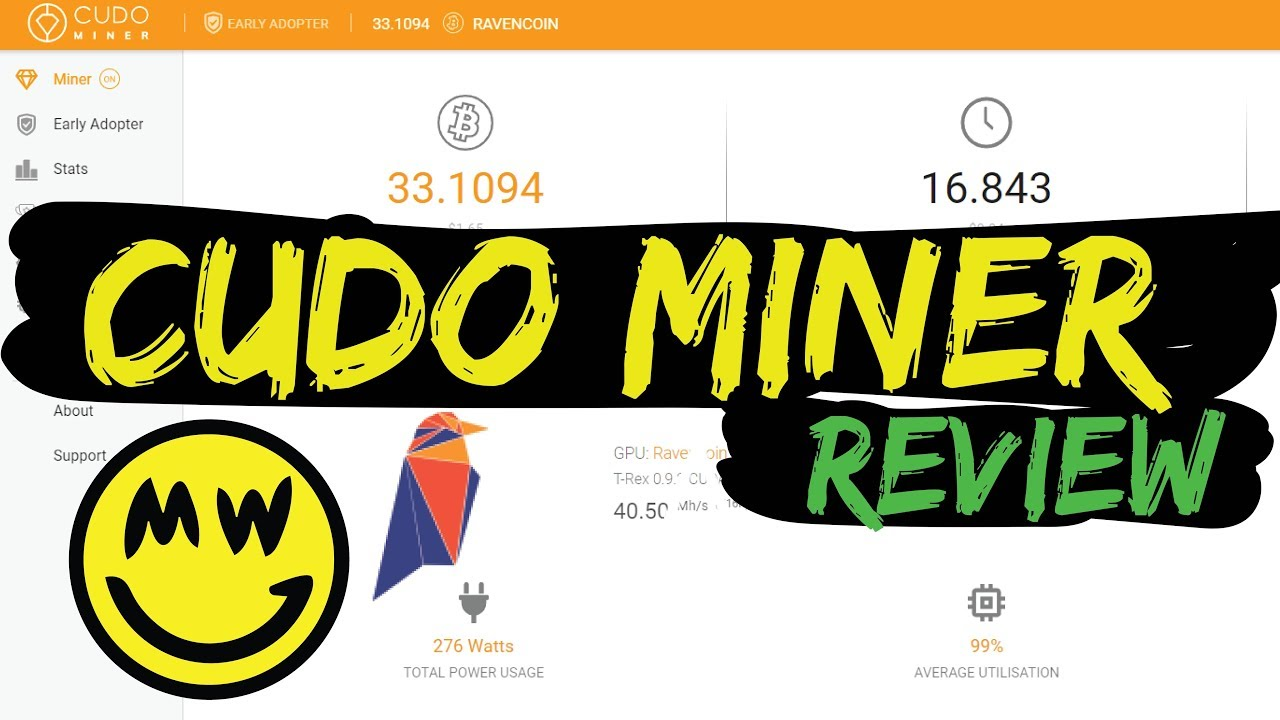 Cudo Miner - Review & First Look Profit Switch Mining Ravencoin & Grin