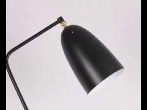 Gubi Grossman Grasshoppa Floor Lamp Youtube