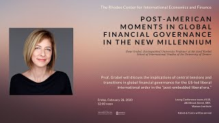 Post-american Moments In Global Financial Governance In The New Millennium