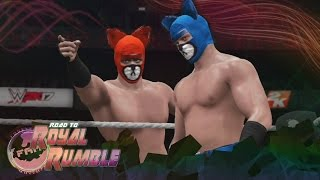 FaM: Road To Rumble - The Skilled Foundation vs The Crummy Bears (WWE 2K17)
