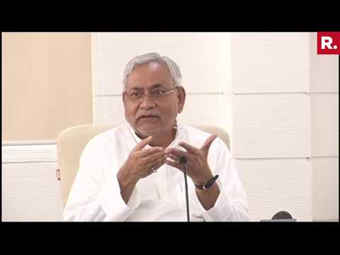 Nitish Kumar's Full Hindi Speech On Latest Political Issues