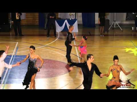 Greek Open 2013: Adults: Five Dance Latin WDSF Int. Open: 1st Round: Part 1