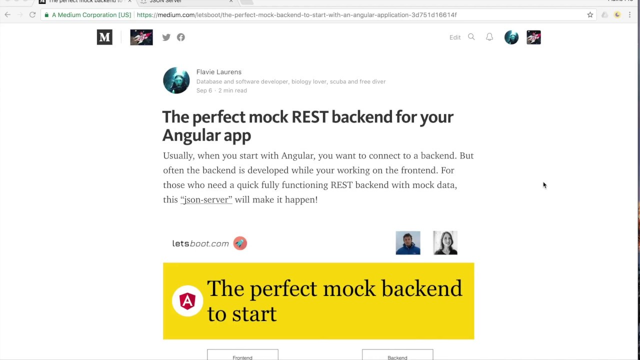 The perfect mock REST backend for your Angular app