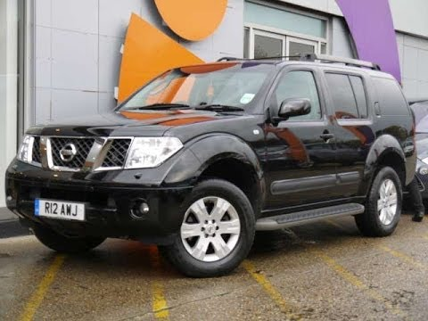 Review Our 2007 Nissan Pathfinder Aventura 2.5dCi Black For Sale In Hampshire