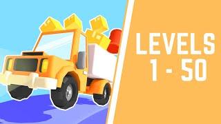 Drive Hills Game Walkthrough Level 1-50