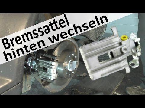 Audi A3 Bremssattel hinten wechseln Seat Leon Bremssättel hinten fest