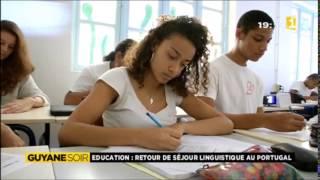 Retour de séjour linguistique au Portugal