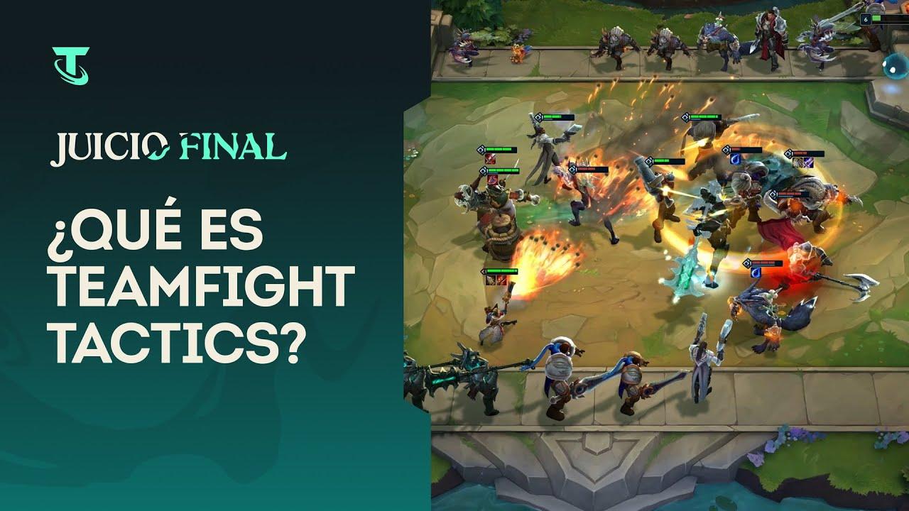 ¿Qué es Teamfight Tactics?