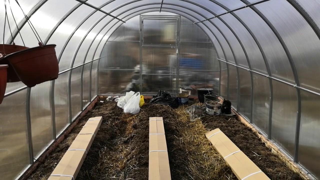 Хозяйственный влог. Сидераты весной, грядка под ранний картофель, новые каркасные грядки для огорода