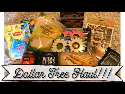 Dollar Tree Haul 💛