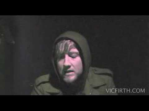 Vic Firth Bob Bryar Interveiw