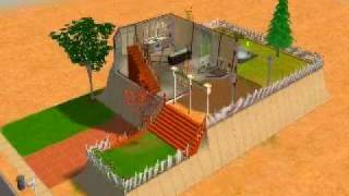 Sims 2 double deluxe: My home!!