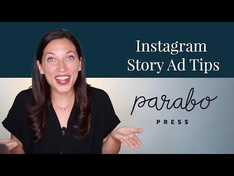 3 Proven Instagram Story Ad Tips: Parabo Press