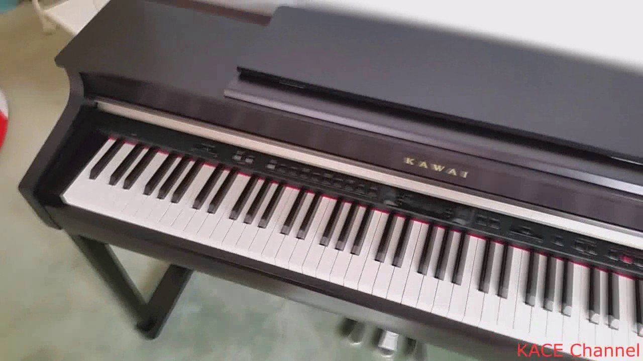 kawai cn35 digital piano unpacking and testing review youtube. Black Bedroom Furniture Sets. Home Design Ideas