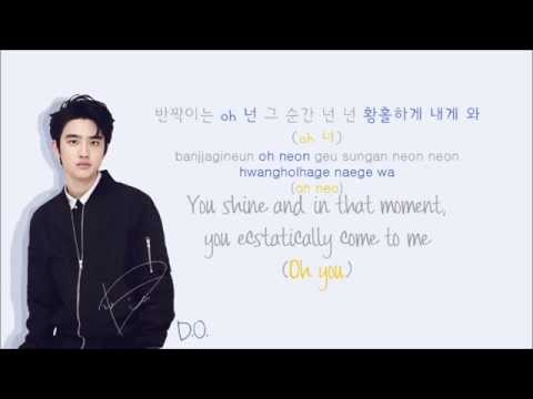 EXO-K - Lady Luck (유성우) (Color Coded Hangul/Rom/Eng Lyrics)