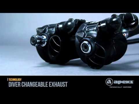 Dive Imports Australia - Apeks Diver Changeable Exhaust
